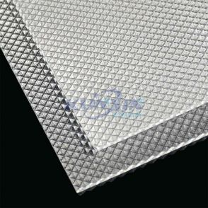 Acrylic Diffuser sheet with Inverted Pyramid pattern Jk-K16