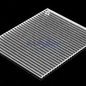 Wider Ribbed Acrylic Sheet JK-DTW11